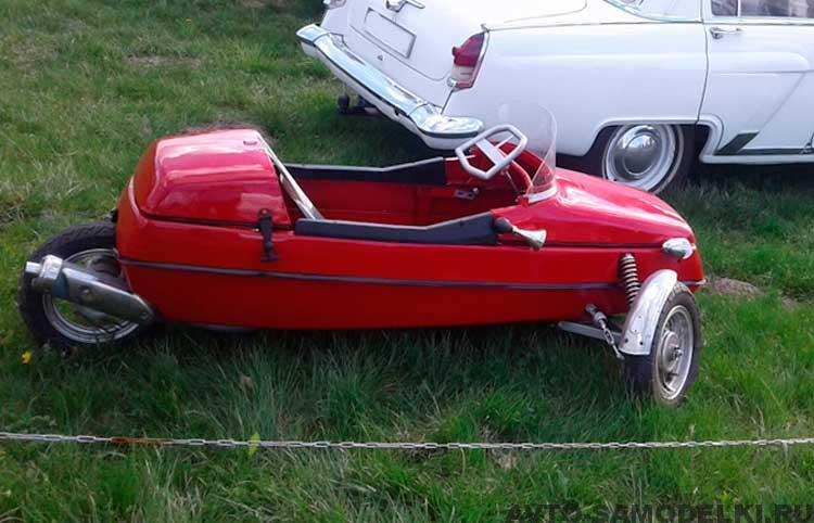 самодельный автомобиль из люльки