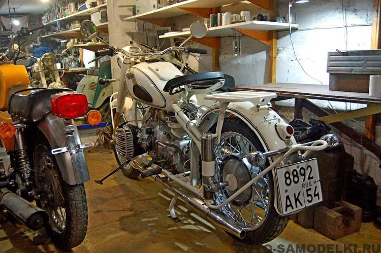 реставрация Урал М 61