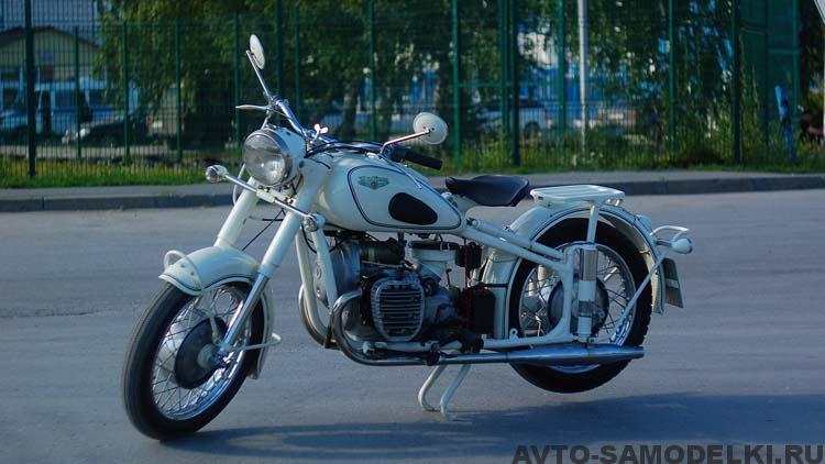 Восстановление мотоцикла М-61