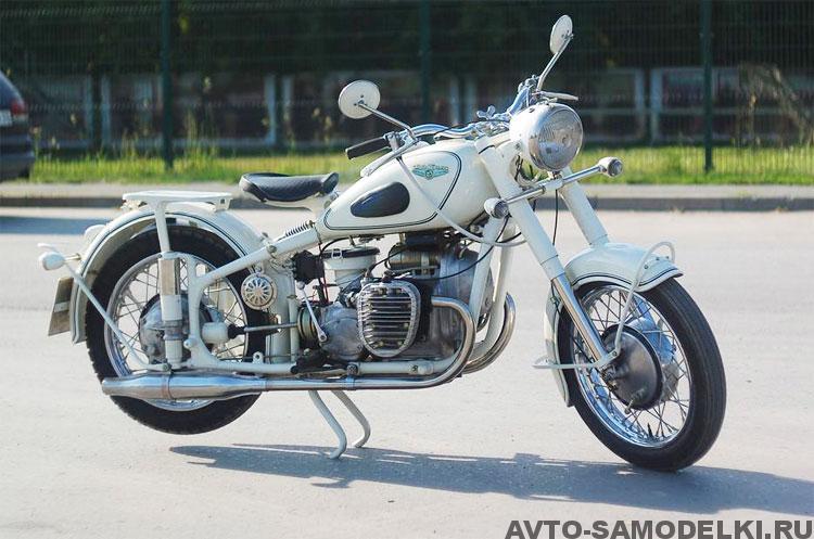 Восстановление мотоцикла ИМЗ М-61
