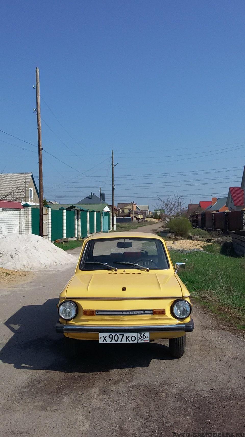 реставрация автомобиля ЗАЗ