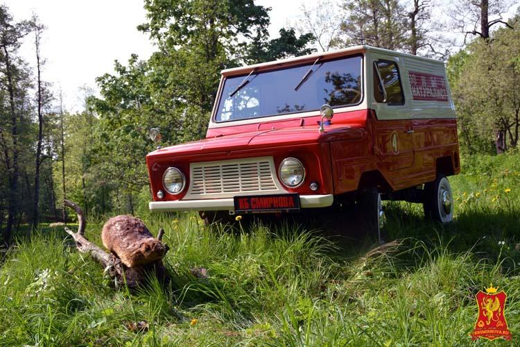 Восстановленный ЛуАЗ-969