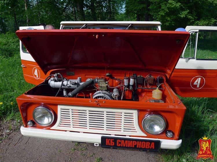 реставрация ЛуАЗ-969