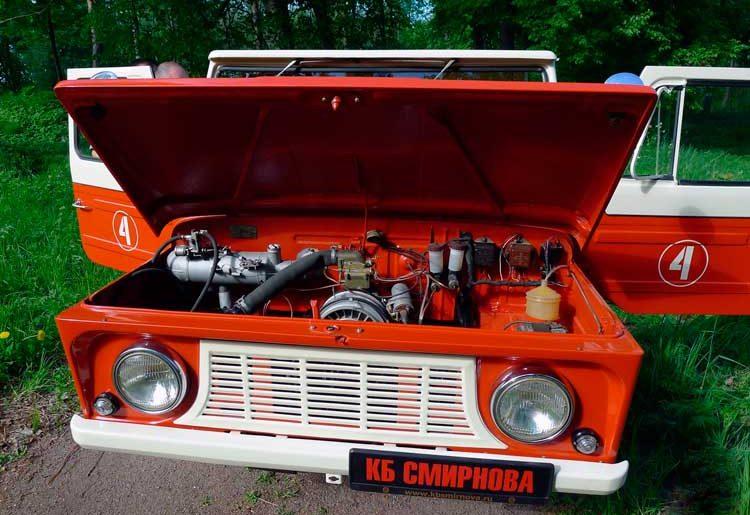 восстановление автомобиля ЛуАЗ