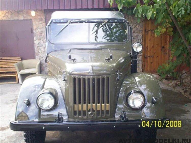 реставрация автомобиля ГАЗ 69