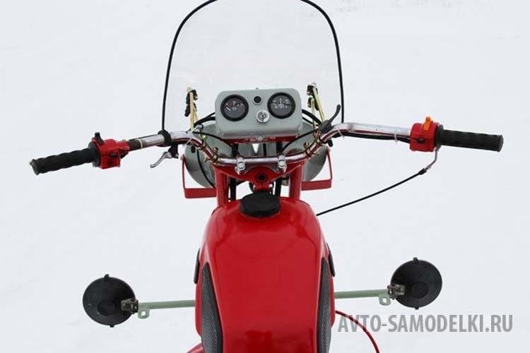 Делаем снегоход из мотоцикла своими руками | Мотоблоки и сельхозтехника