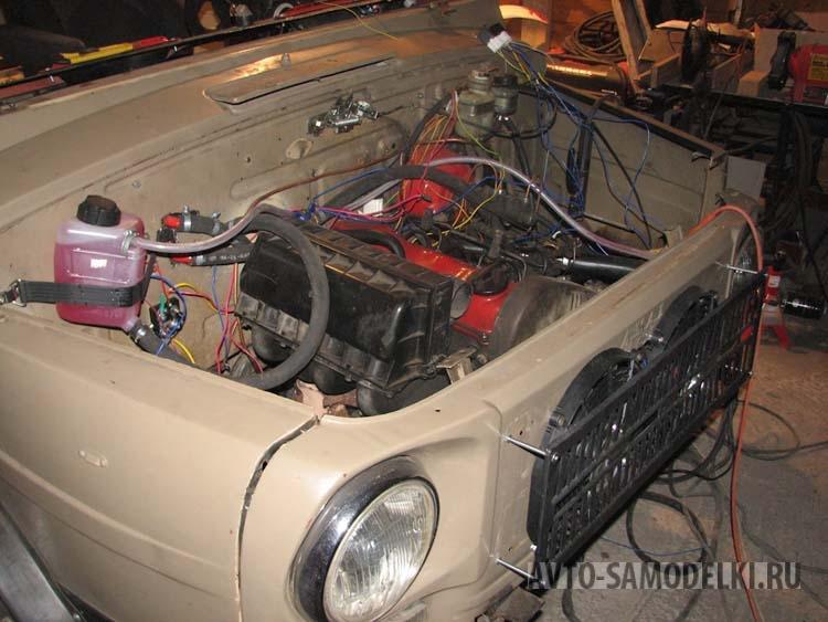 Установил дизельный двигатель на ЛуАЗ-969