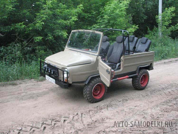 Установил дизельный мотор на ЛуАЗ-969