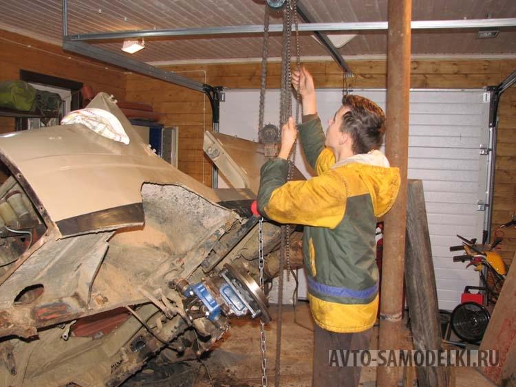 Переходная плита на луаз под двигатель ваз 2108 своими руками